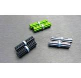 (SCX3-6044L) SCX10-3 Alum. inner driveshaft set