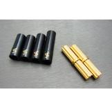 (END-4244) Enduro Brass inner & outer driveshaft combo set