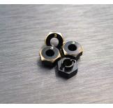 (SCX24-4063-3) SCX24 brass hex adapter (3mm)