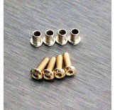 (END-6067) Enduro stainless steel knuckle bushing set