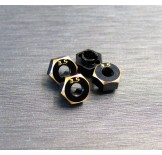 (SCX24-4063-3.5) SCX24 brass hex adapter (3.5mm)