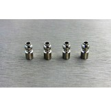 (SCX3-58US) SCX10-3 Stainless steel 5.8mm upper suspension ball