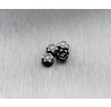 (SCX24-6669lh) SCX24 alum. locking hubs (4pcs)