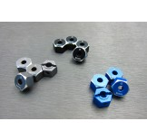 (END-6063-8) Enduro alum. hex adapter (8mm)