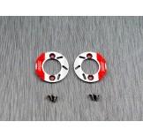 (SCX24-6412) SCX24 scale brake rotor & caliper set