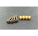 (TRX4-4067) TRX-4 brass knuckle bushing set