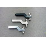 (TRX4-6057) TRX-4 Alum. & Stainless steel drop hitch receiver
