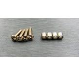 (TRX4-6067) TRX-4 stainless steel knuckle bushing set