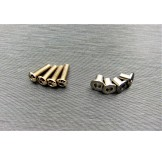 (SCX2-6067) SCX10-2 stainless steel knuckle bushing set