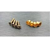 (SCX2-4067) SCX10-2 brass knuckle bushing set
