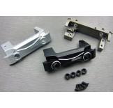 (SCX2-6068)  SCX10-2 front short alum. bumper mount (with adjustable servo mount)