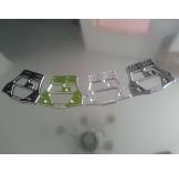 (SCX-6017) SCX10 Samix 4-link servo plate