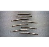 (SCX2-5025HS) SCX10-2 Titanium high clearance (8pcs) full set link kit (288mm middle wheelbase)