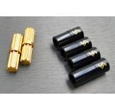 (SCX3-4244L) SCX10-3 Brass inner & outer driveshaft combo set
