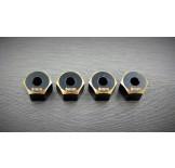 (SCX2-4063-8) SCX10-2 brass hex adapter (8mm)