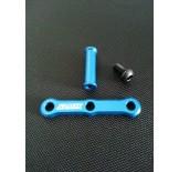 (418-6006S) TRF-418 Samix Aluminum steering stiffener post set