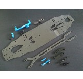 (418-CK-01V2) TRF-418 Samix conversion kit (Carbon chassis version V2)