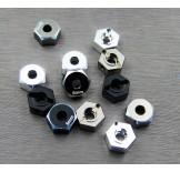 (SCX2-6063-6)  SCX10-2 alum. hex adapter (6mm)