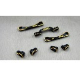 (BD7-SM-403S) Samix for BD7 1mm lower brass suspension arm full set