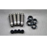 (SCX-6040) SCX10-2 Alum shock body full set