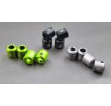 (SCX2-6043L) SCX10-2 Alum. drivershaft caps (4pcs)