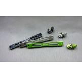 (SCX2-6033) SCX10-2, CFX, Enduro Alum. front or rear shock mount stiffener plate