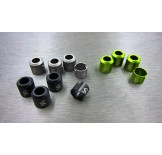 (SCX2-6043H) SCX10-2 for RTR version Alum. drivershaft caps (4pcs)