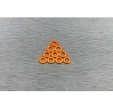 (W-001OR) 3X0.5 washers Orange color (multiple rc car suitable)