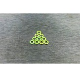 (W-001GN) 3X0.5 washers Green color (multiple rc car suitable)