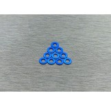 (W-001B) 3X0.5 washers Blue color (multiple rc car suitable)