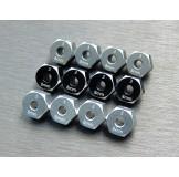 (SCX3-6063-8) SCX10-3 / Capra alum. hex adapter (8mm)