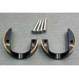 (SCX3-4012b) SCX10-3 / Capra brass Portal Cover (33g)