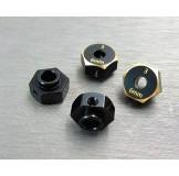 (SCX3-4063-6) SCX10-3 / Capra brass hex adapter (6mm)