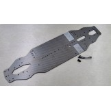 (T4-17-1001S) Xray T4-17 Samix 2.25mm Carbon chassis (soft material)